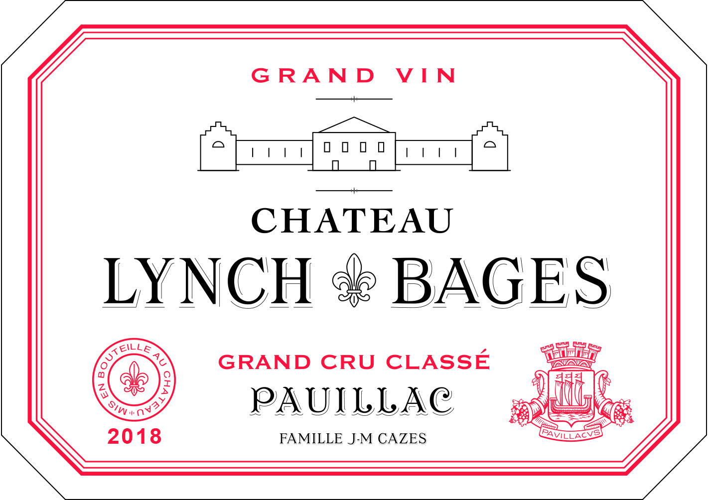Lynch-Bages 2018